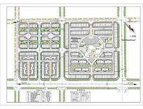 某县城开发区小区设计规划图 CAD