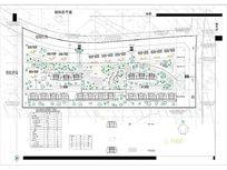 某小区住宅间绿地休闲景观规划平面图 CAD
