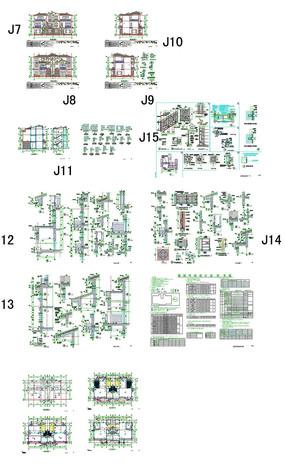 别墅豪庭CAD图纸