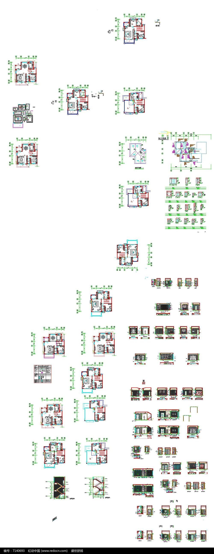 家居装饰平立面图图片