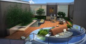 现代庭院别墅景观设计80平米小户型别墅图图片