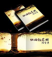 怀旧纪念册同学录封面画册书籍设计