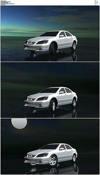 三维汽车模型动画视频素材