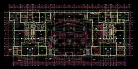 办公室平面图CAD设计图