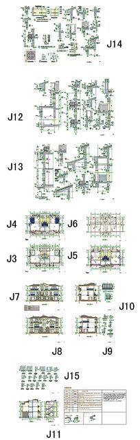 别墅户型CAD图纸