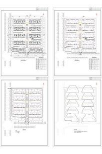 别墅住宅规划平面图及分析图