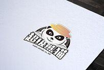 超级熊猫logo
