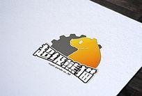 创意大熊猫logo