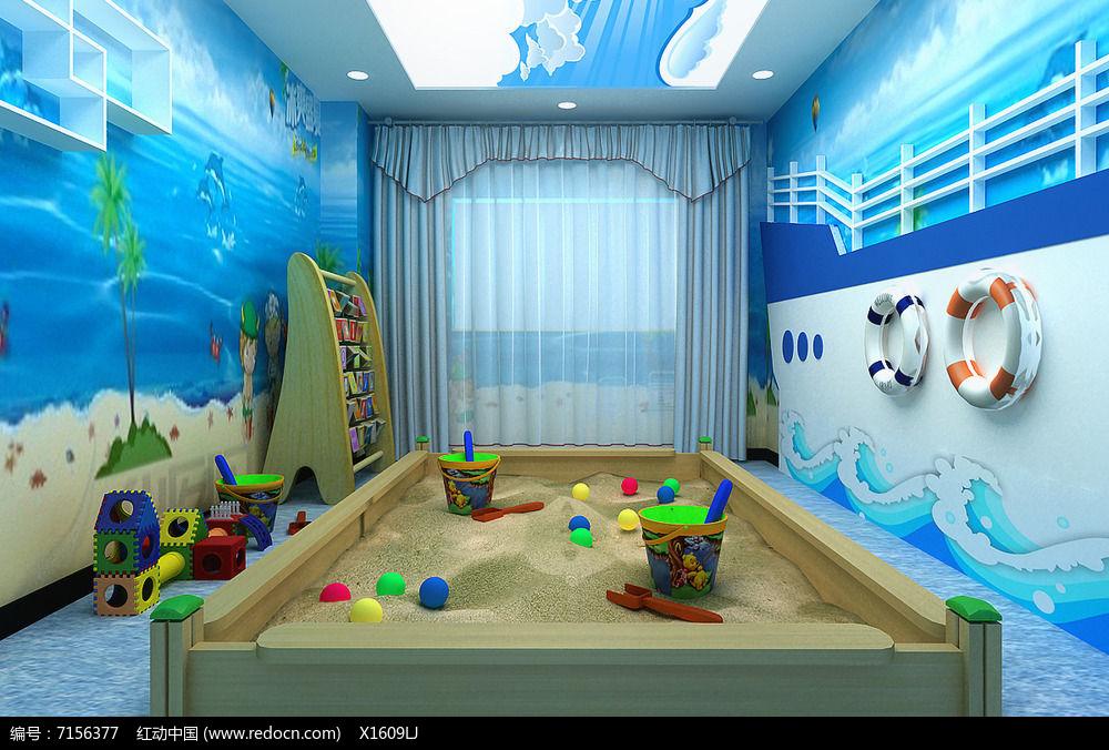 海洋主题幼儿园游乐区