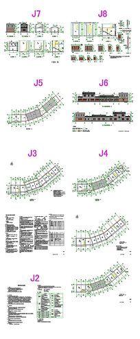 岭南村商铺CAD图