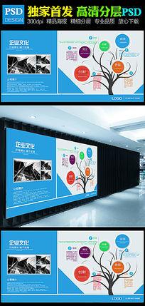 通用现代企业文化形象墙