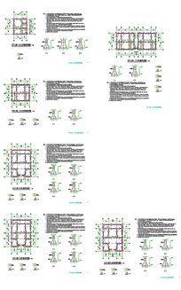 文化村建筑CAD图纸