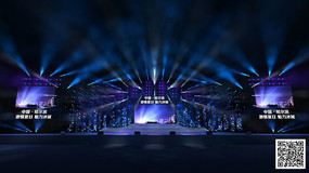 演唱会舞台3D效果图 max
