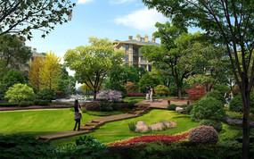 住宅区绿地景观