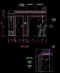 卧室室内装修立面设计图