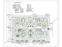 小区休闲活动规划总平图 CAD