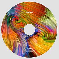 抽象艺术光盘设计