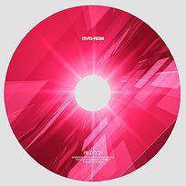 红色科技光盘设计