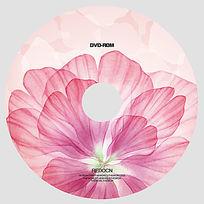 花瓣艺术光盘设计