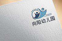 可爱幼儿园logo设计
