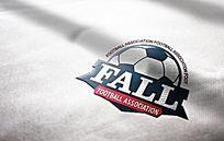 炫酷足球logo设计