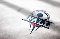 时尚足球logo设计