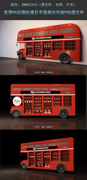 巴士车模型玩具巴士设计3DMAX模型下载舞台模型下载 max