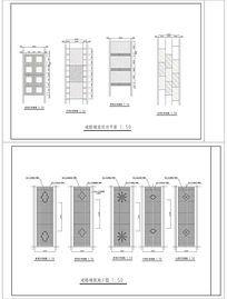 道路铺装设计施工平面图 CAD