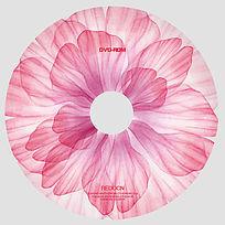 粉嫩花朵光盘