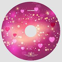 粉色浪漫光盘