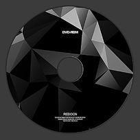黑色晶格光盘