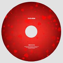 红色浪漫光盘