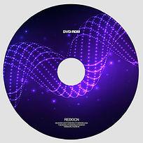 紫色光线光盘
