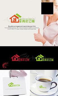青年公寓logo AI