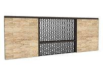 长方形SU景墙照壁