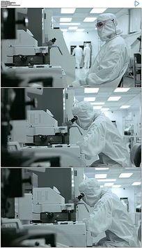 科学研究高科技实验室实拍视频素材