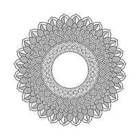 曼陀罗花形图案AI矢量素材