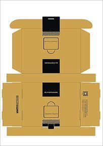 品牌包装设计展开图设计