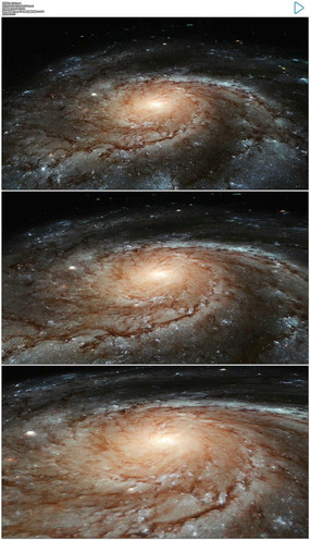 宇宙银河系视频素材