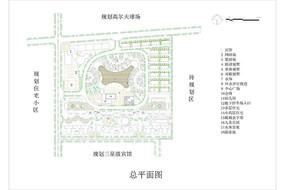 别墅小区休闲景观平面图 CAD