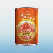 大气创意番茄丁包装设计