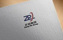 简洁字母logo设计