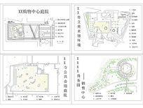 建筑周边庭院设计平面图
