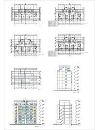 某某建筑室内设计平面图