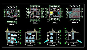 农村别墅设计图