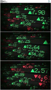 股市证券数据视频素材