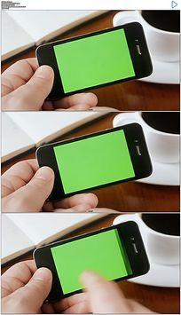 手机绿屏抠像视频素材