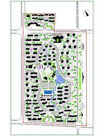 小区规划总平面图 CAD
