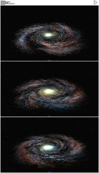 宇宙空间旋涡动态背景素材