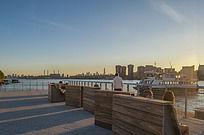 滨河景观坐凳